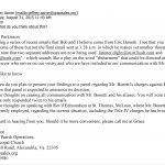 Proof Bob Malm Violates Mandated Confidentiality