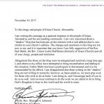Bishop Shannon Johnston Lies to Grace Episcopal