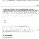 Kemp WIlliams Email About Eric Bonetti
