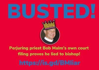 Episcopal priest Bob Malm
