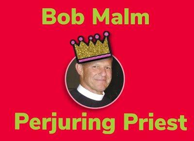 Bob Malm perjuring prieståç