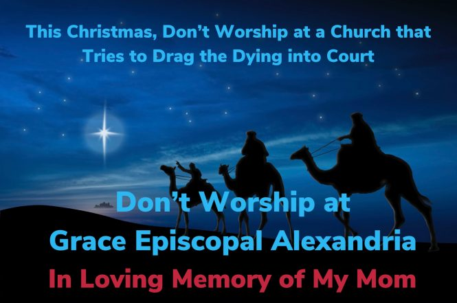 Boycott Grace Episcopal Alexandria This Christmas