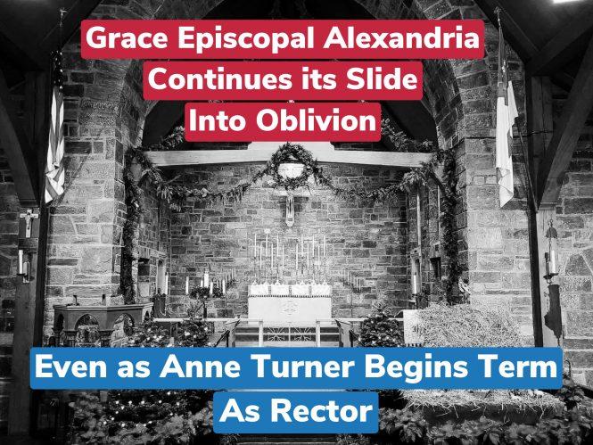 Grace Episcopal Alexandria Continues its Slide Into Oblivion
